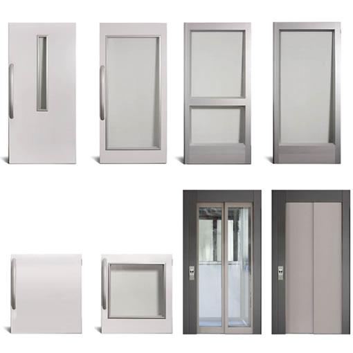 Cửa thang thép khác nhau, lựa chọn cửa thang nhôm