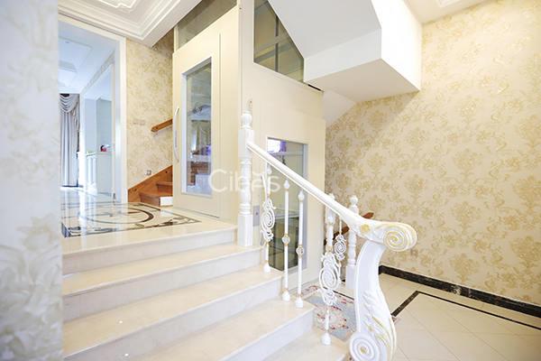 舒适与科技感并存的别墅电梯不同开门方向