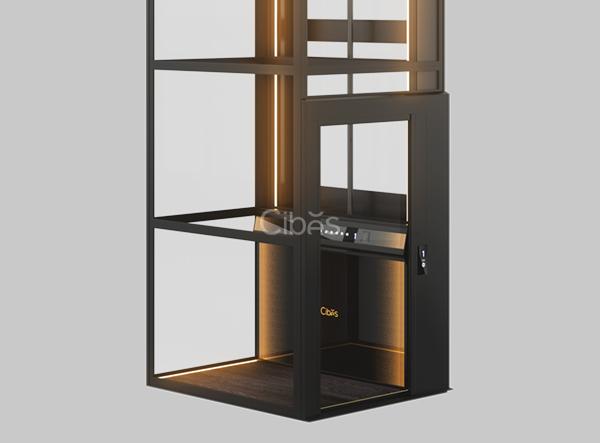 光影随性,炫酷型别墅电梯