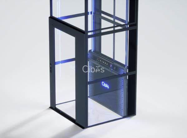舒适与科技感并存的别墅电梯