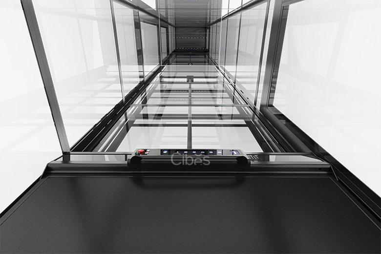 舒适型小型家用电梯五面观光