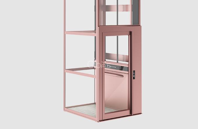 纯净北欧风家用电梯
