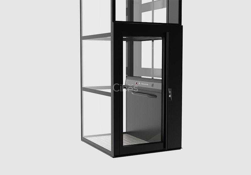 纯净北欧风家用电梯 黑色款