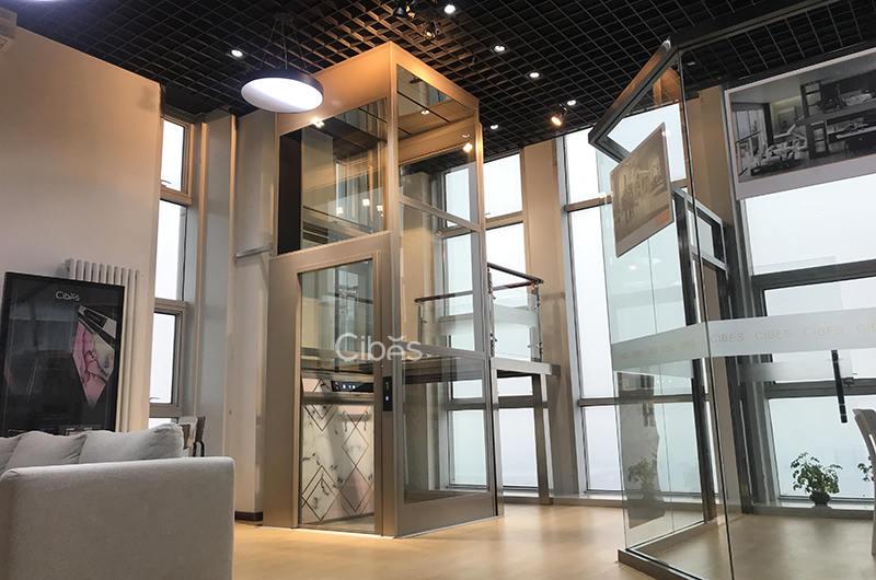 天津家用电梯展厅 - Cibes西柏思