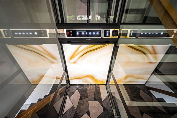 多样化,私人定制家用电梯丰富背景选项