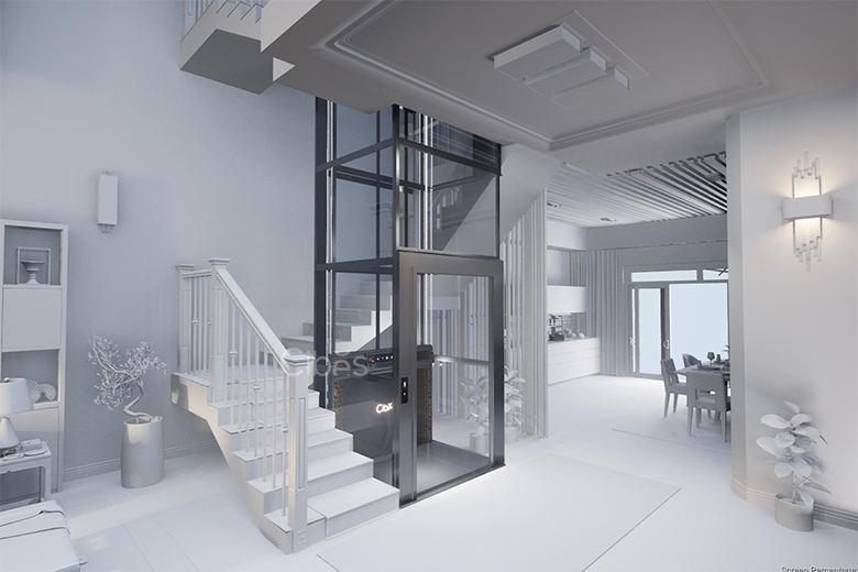 舒适与科技感并存的别墅电梯底坑要求