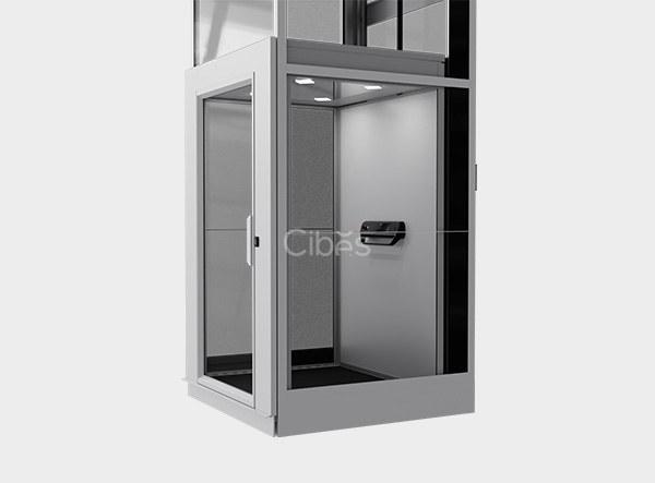 实用简约轿厢式别墅电梯