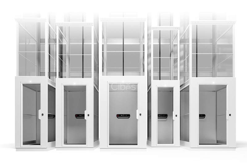 v90实用简约轿厢式别墅电梯