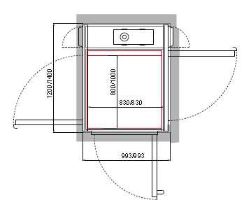 Cibes A4000开门结构示例