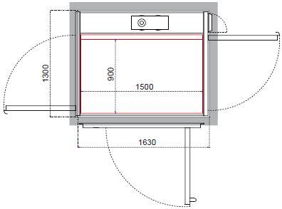 Cibes A5000(半标1)开门结构示例
