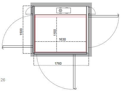 Cibes A5000(标1)开门结构示例
