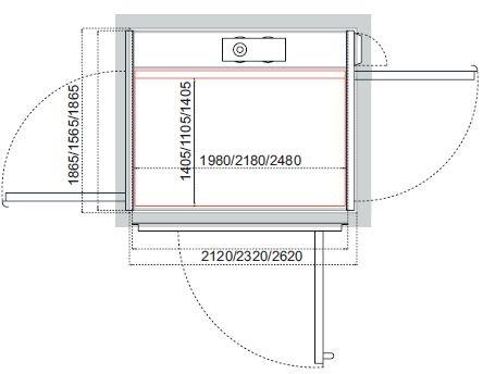 Cibes A8000开门结构示例