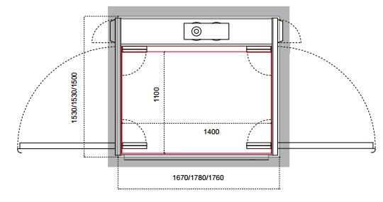 Cibes A6000/A6000S开门结构示例