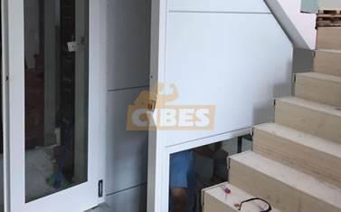 Cibes二层家用别墅电梯上海案例201509