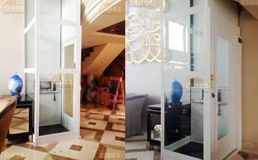 CIBES电梯安装于杭州复式楼 201606