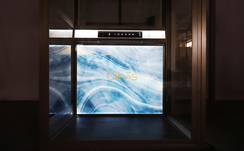 Cibes航行者时尚款 - 幽蓝水晶背景