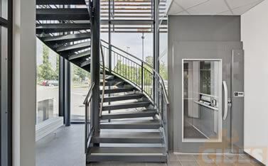 Cibes A7000 带装镜平台电梯