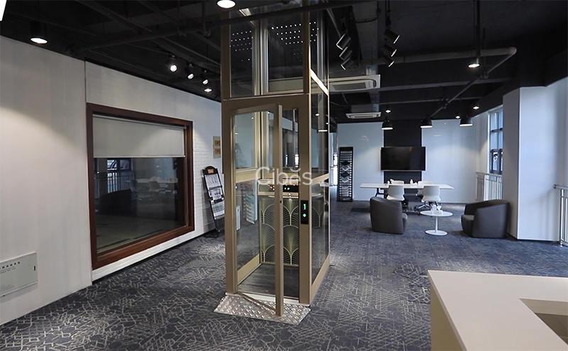 Cibes西柏思家用电梯绍兴展厅