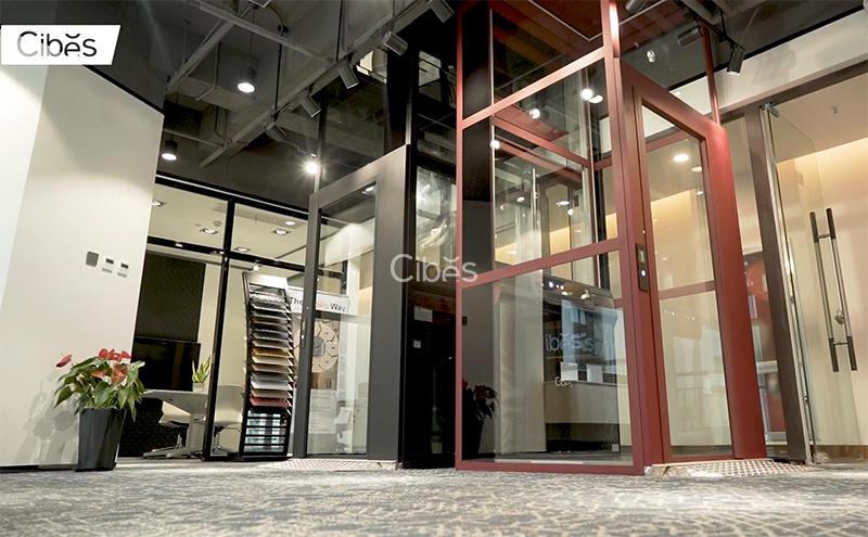 Cibes西柏思家用电梯温州展厅