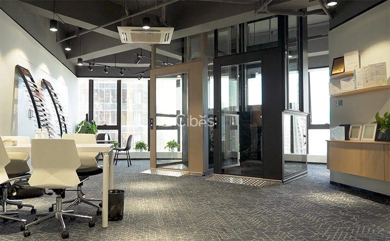 Cibes家用电梯义乌展厅丨新一代Voyager V80系列视频