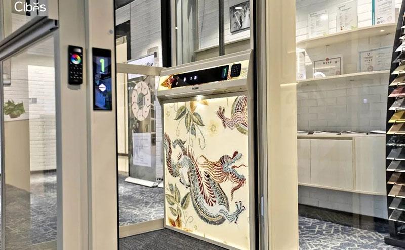 国风系列家用电梯 - 匠心独运,兼具古典与时尚之美