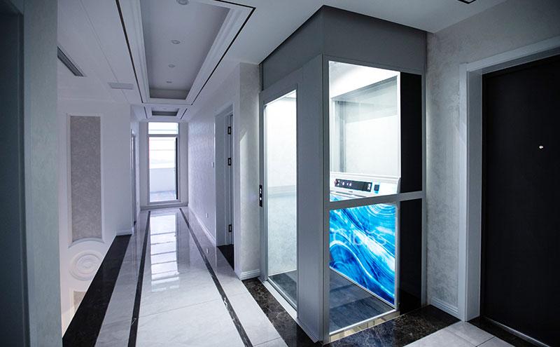 山东烟台家用电梯案例视频 202010