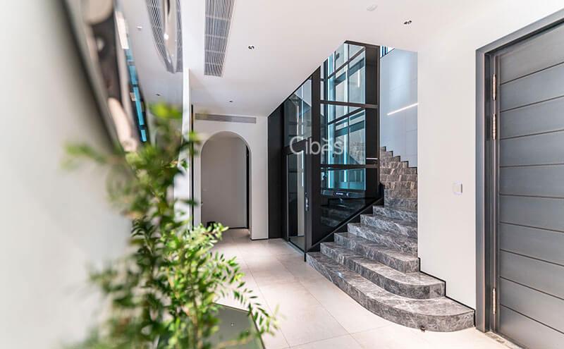 重庆四层别墅小电梯安装案例 202109