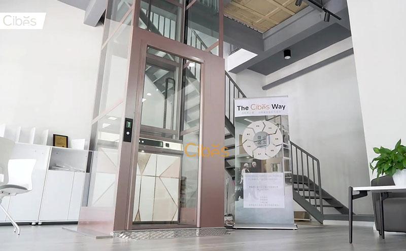 Cibes西柏思家用电梯台州展厅